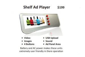 shelf ad player 1